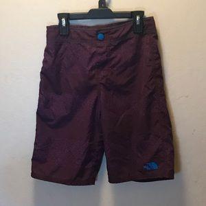 The North Face boys swim shorts